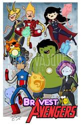 Bravest Avengers by mikegoesgeek