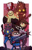 Guardians Of Ooo by mikegoesgeek