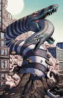 Sandworm Kaiju by mikegoesgeek