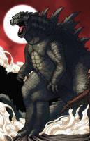 Legendary Godzilla by mikegoesgeek