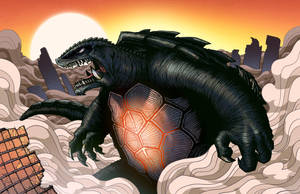 Gamera by mikegoesgeek