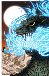 Atomic Dynasty Godzilla 2000 by mikegoesgeek