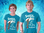 Squirtle The Turtle and His Squad Teefury design by mikegoesgeek