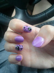 Soot Sprite Nails by AFKBrandy