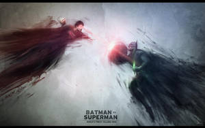 BATMAN vs SUPERMAN by JMattisson