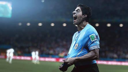 Luis Suarez aka Werewolf by JMattisson