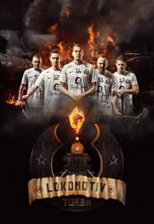 Tumba Lokomotiv - Poster by JMattisson