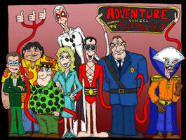 Plastic Man Family by Lordwormm