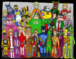 Justice League Wha...? by Lordwormm