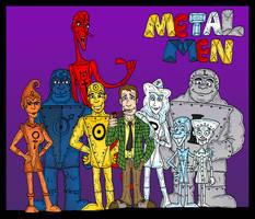 Metal Men by Lordwormm