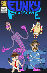 Funky Foursome by Lordwormm