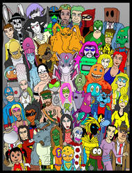 Deviant Art All Stars 2!! by Lordwormm