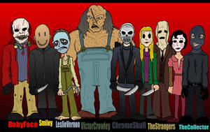 Modern Horror Line Up by Lordwormm