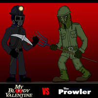 My Bloody Valentine VS The Prowler by Lordwormm