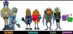 Original Alien Races III by Lordwormm