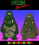 NEON MANIACS:  Scavengers by Lordwormm