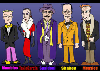 DickTracy:  Rogues II by Lordwormm