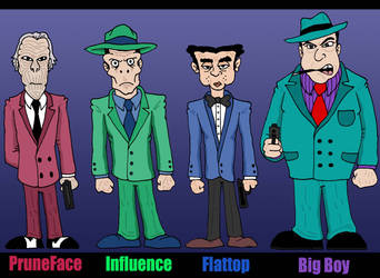 Dick Tracy:  Rogues III by Lordwormm