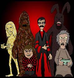Weird Horror Team by Lordwormm