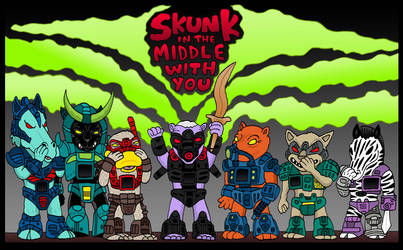 Skunk in the Middle with You by Lordwormm
