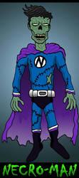 Necro-Man by Lordwormm