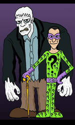 Riddler and Solomon Grundy by Lordwormm
