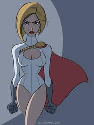 Power Girl by donutandwhisky
