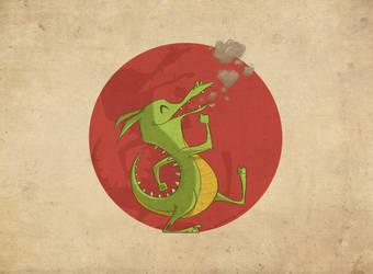 Dancing Dragon by donutandwhisky