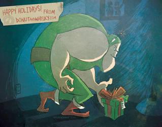 Happy Holidays 2011 by donutandwhisky
