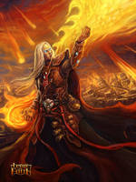 fire mage by T-H-U-R-S