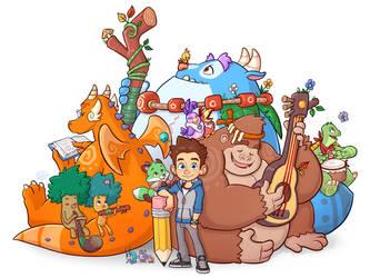 Luigi and Friends by LuigiL