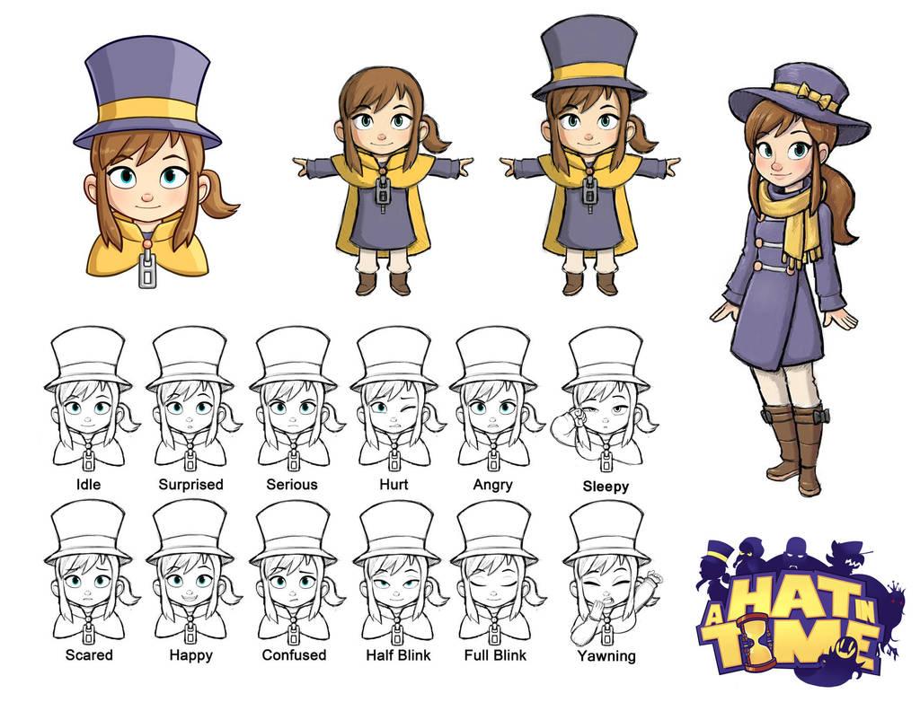 Hat Kid Designs by LuigiL