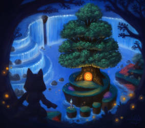 Hidden Gateway by LuigiL