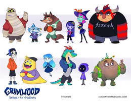 Grimwood - Students by LuigiL