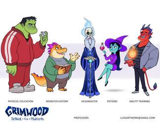 Grimwood - Professors by LuigiL