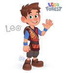 Leo's New Look by LuigiL