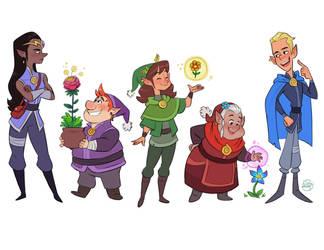 Elves by LuigiL