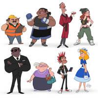Random Characters 7 by LuigiL