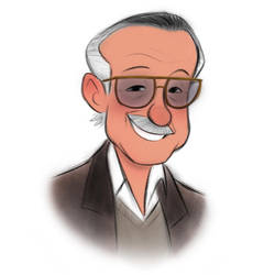 RIP Stan Lee by LuigiL