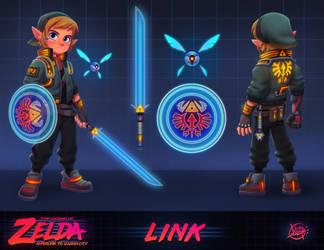 The Legend of Zelda - Hyperlink to Ganon City by LuigiL