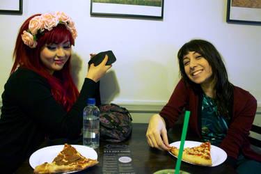 lunch date by ellfiee