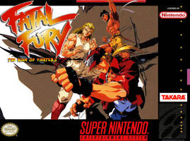 Fatal Fury SNES box cover by Hellstinger64