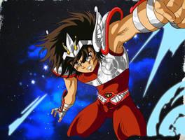 Pegasus Seiya by Hellstinger64