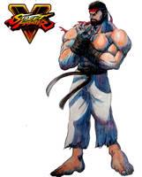 SFV Ryu by Hellstinger64