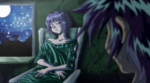 Saint Seiya Episode G Lithos and Aiolia by Hellstinger64