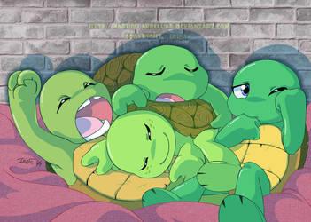 Turtle pile by Nakuru-Nebelung