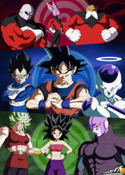 Dragon Ball Super Poster Universe Survival by robertDB