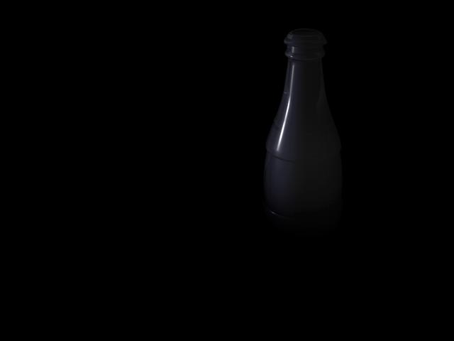 botella de coca cola by romique