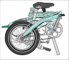 bici plegable by romique