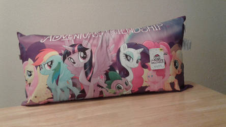 My Little Pony friendship is Magic body pillow by kimpossiblelove